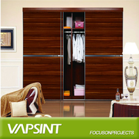 2016 latest wooden clothes cupboard design