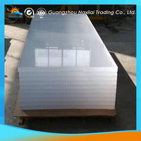 manual laser cutting acrylic flexible milky white acrylic sheet
