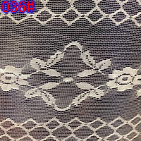 100%polyester low elastic guangzhou made in China lace fabric for mosquito net