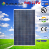 china superb poly 225W solar panel manufacturers stock in usa with tuv ce