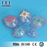 Surgical medical grade PVC anesthesia mask face mask supplier