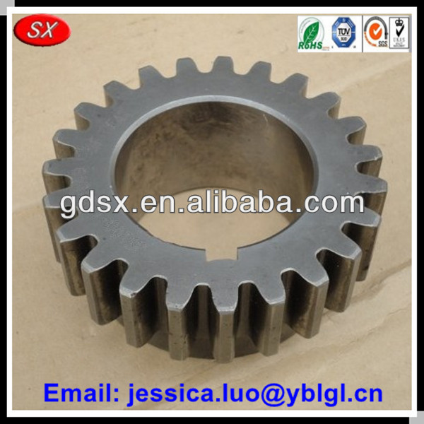 Google China Guangdong top sales heavy duty reduction gear,reduction spur gears straight tooth in carbon steel material