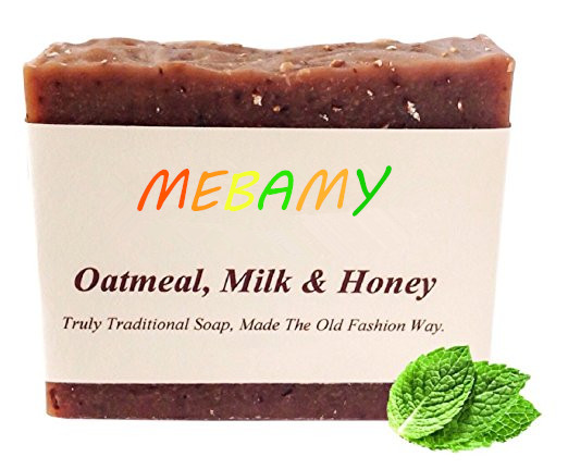 Exfoliating Soap Oatmeal Soap With Honey Goats Milk And Shea Butter