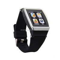 ZX i9300 4.7inch 3G Calling MTK6577 Capacitive Touch Screen Touch Smart Watch Mobile Phone