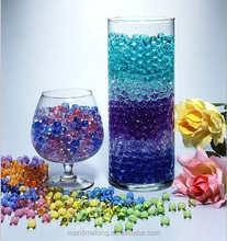 Crystal Soil Water Beads Magic Jelly Ball Wedding Party Home Office Baby Shower Planting Flower Vase Decor