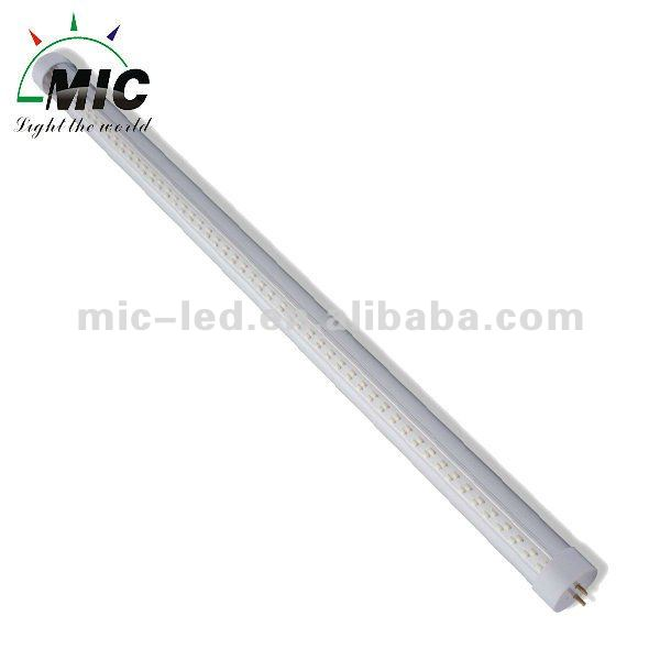 MIC Safe and durable 12 volt dc t5 t8 red color fluorescent lamp tube