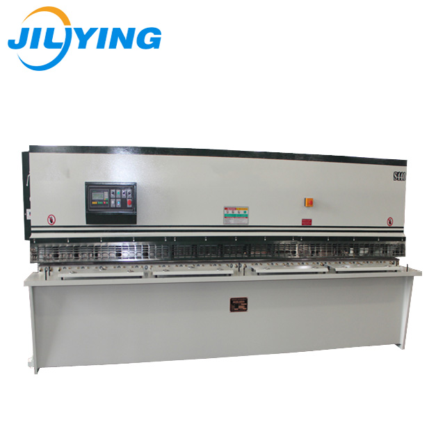 10ft width metal iron plate hydraulic guillotine blade shearing machine