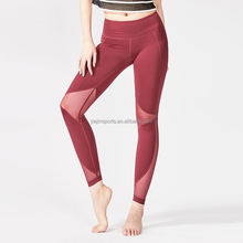 Super October Wholesale Sexy Fitness High Waisted Workout Sports Yoga Pants Leggings for jogging running yoga
