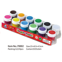 New product finger paint kits for kids water based paint