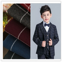 Shrink Resistant Plaid Fabric For School