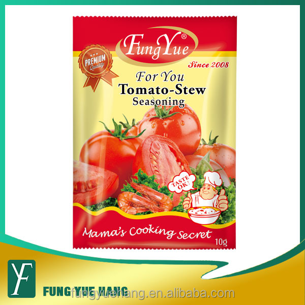 10g Tomato Flavored instant soup powder halal seasoning powder