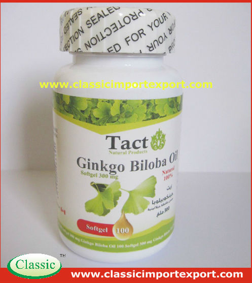 Nutrition Supplements Ginkgo Biloba Softgel 60mg