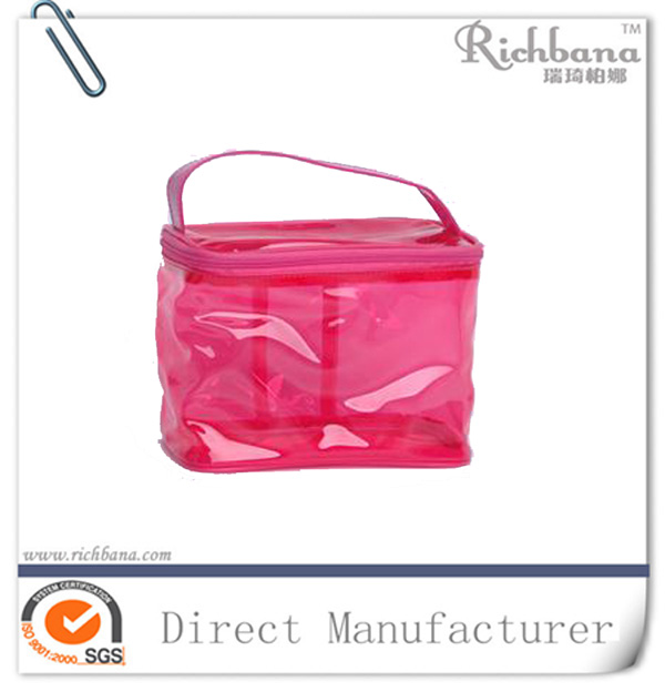 2016 new designer promotion pvc cosmetic pouchs for <strong>travelling</strong>