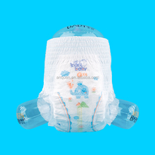 Economic Customized Print Non-Woven Fabic High Absorbent Dry Disposable Training Baby Pant Diaper
