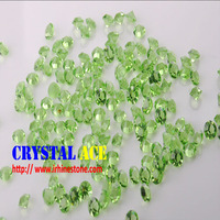Unfoiled chaton glass stones, point back stones for jewelry making