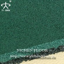 Rubber Floor Tile For Outdoor Basketball/Tennis/Badminton playground