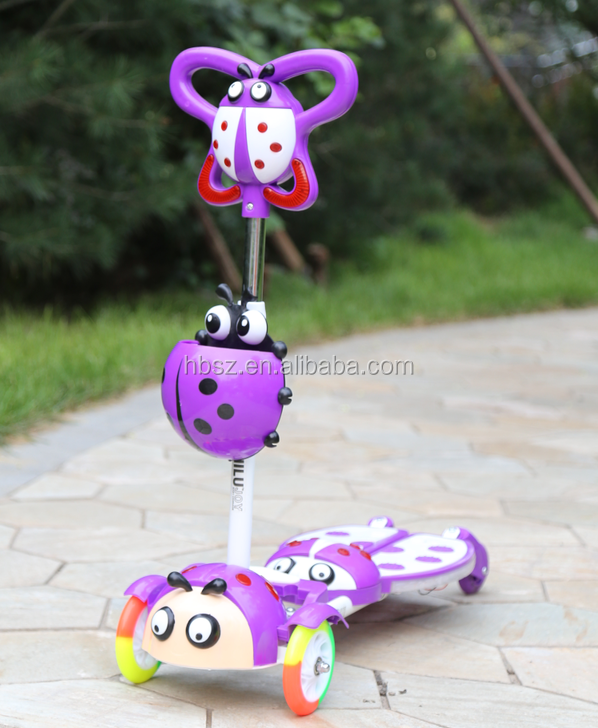 electric kick scooter kick scooter Best colorful big wheel kick scooter for kids