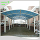 white metal frame aluminum carport panels with polycarbonate sheet,car parking canopy tent outdoor,rv canopy carport