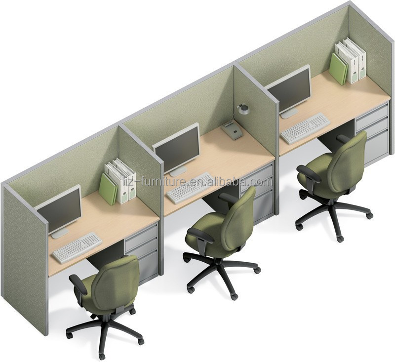 Modern Design Office Partition Call Center Cubicles Simple