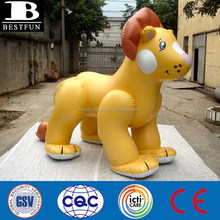 Factory 7ft tall giant inflatable lion king plastic lion mascot customized inflatables bouncers