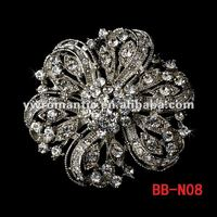 Factory wholesale hot sale bridal rhinestone brooch