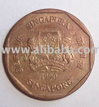 SINGAPORE DOLLAR DATED 1990