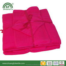 Factory Professionally customized terry bath towel set new 6 piece 100% cotton softtextile for hotel