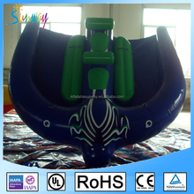 Custom Flying Tube Inflatable Flying Manta Ray / Fly Fish Inflatable for Water Park