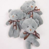 3pcs/lot women baby cute stuffed teddy bears Toys kids mini Plush animals Bear dolls for girls cute toys best gifts