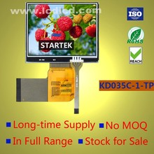 3.5 LCD display with resistive touch panel