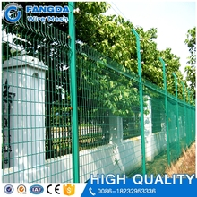 china manufacturer welded wire mesh fence opaque 5mm*5mm