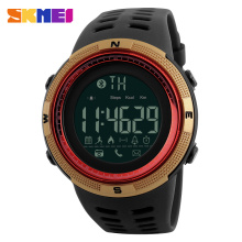 2017 Skmei bluetooth pedometer sports smart wristwatch multifunctional health care watch
