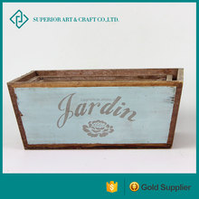 wholesale Wooden Crate wooden planter boxes timber planter boxes for home and garden