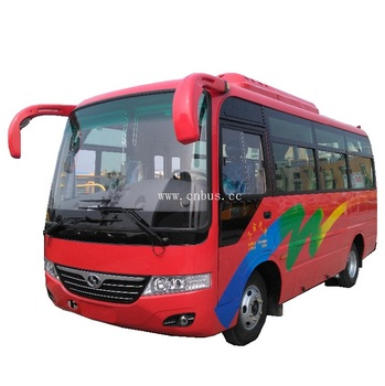 6.6m 25 seats diesel euro 3 ecnomic Shaolin new bus