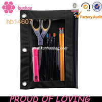 Black 3 Ring Binder Pencil And