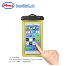 Wholesale Touch Friendly Waterproof Dry Bag for All Mobile Phones