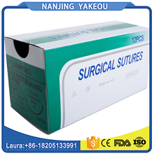 Black / Green / Clear Monofilament Nylon Surgical Suture