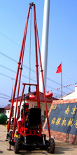 Tower and four wheel trailer drilling rig(300-1000m),geological exploration , drilling well ,diamond core drilling rig