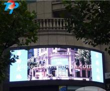 P10 RGB DIP full color moving advertising LED screen video