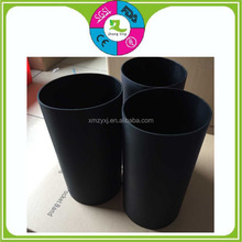 Custom food grade protective silicone black sleeve durable rubber bushing
