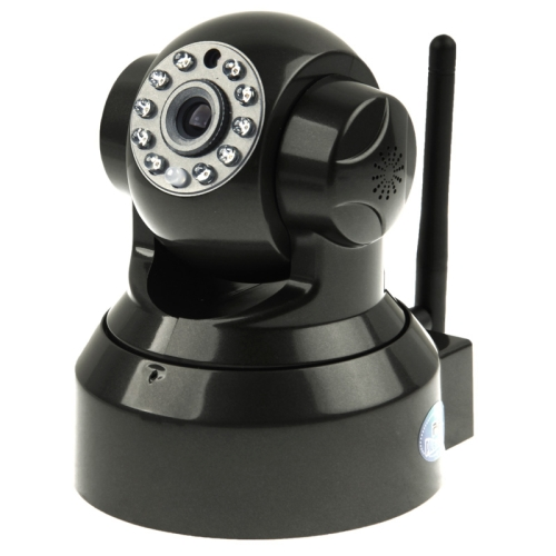 Wireless WIFI P/T Built-in Microphone Dome IP Camera