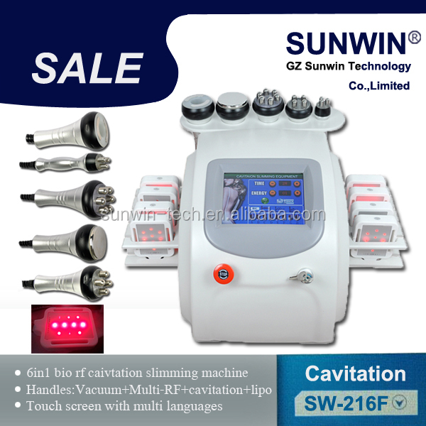 New products ultrasonic vacuum cavitation rf machine skin care system