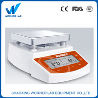 WN400 Timing Thermostat magnetic stirrer with stainlee steel heating plate