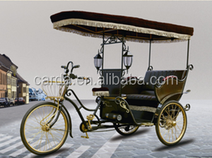 tourist pedicab erickshaw for sale/ 3 wheel battery operated passenger tricycle