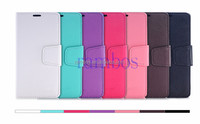 Flip Wallet Leather Case Cover Stand for Samsung Galaxy S2 i9100 / for Samsung Galaxy Star Pro 7262 S7262 / Note 3 / Note 4