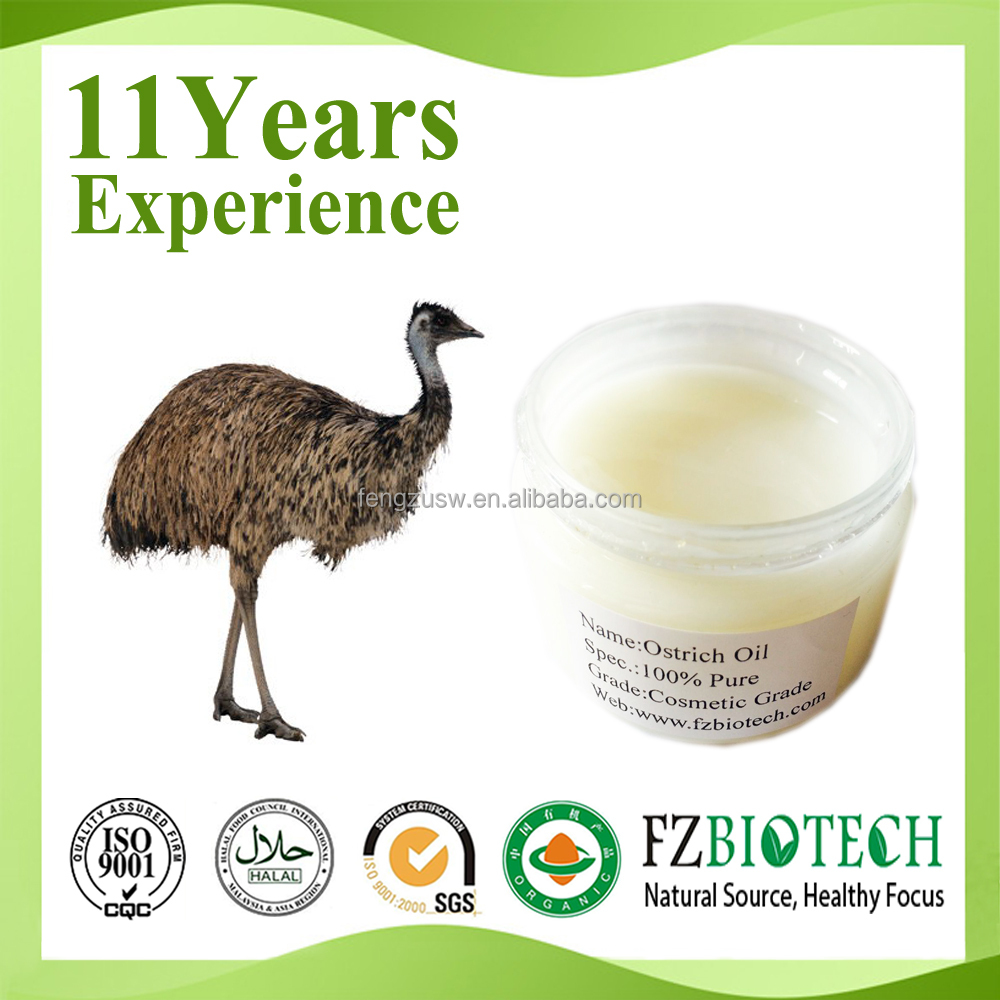 Chinese Supplier 100% Pure Natural Ostrich Oil, Premier Ostrich Cream Price