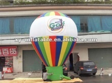 Playground advertising inflatable hot air balloon price