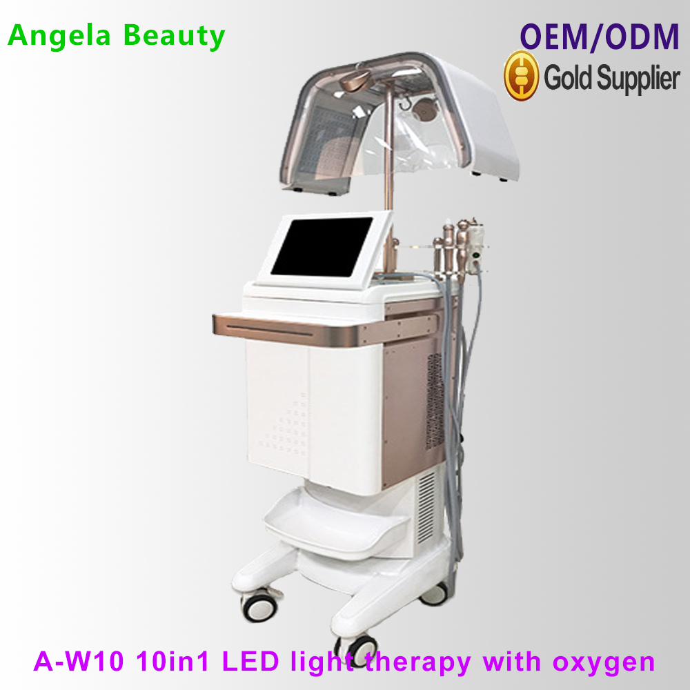 <strong>W10</strong> Hydrodermabrasion <strong>machine</strong> 10 in 1 multifunction beauty salon facial equipment PDT