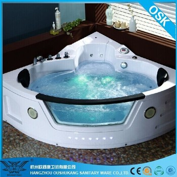 Functional 52 Inch Bathtub with Free Massage Video