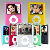 "factory wholesale 100% new style 4gb 1.8"" 3th fm mp3 mp4 players"